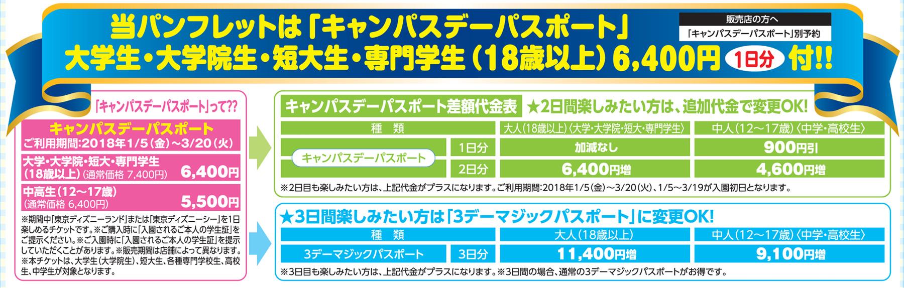 学生限定「キャンパスデーパスポート」(1日分)付♪新幹線で行く!東京
